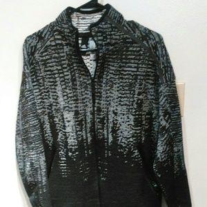 Adidas womens sweater jacket